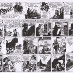 Daily strips de « Lone Rider » par Kirby & Farrell.