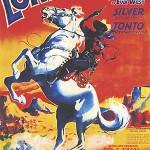 « Le Dernier des fédérés », alias « The Lone Ranger » (William Witney, 1938), l'un des serials vu par Jean Giraud...