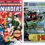 Cover + splash de Invaders 4 (1/76), paru en France dans Titans 26 (mai 1980).