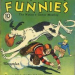 Couverture de Famous Funnies n°76.