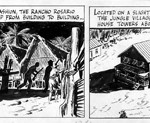 Un daily strip de Scorchy Smith de Noël Sickles.