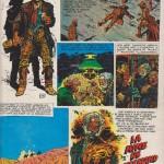 Planche annonce de l'épisode « La Mine de l'Allemand perdu », publiée au n°496 (08.05.1969) de Pilote.