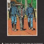 Planche annonce de l'épisode « L'Outlaw », publiée au n°699 (29.03.1973) de Pilote.