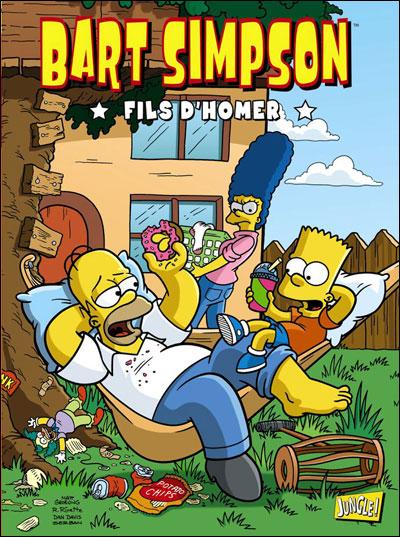 Zoom sur les meilleures ventes de bd du 28 mars 2012 bart simpson 3 - Bande dessinee simpson ...