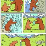 L'Ours Barnabé La Cascade