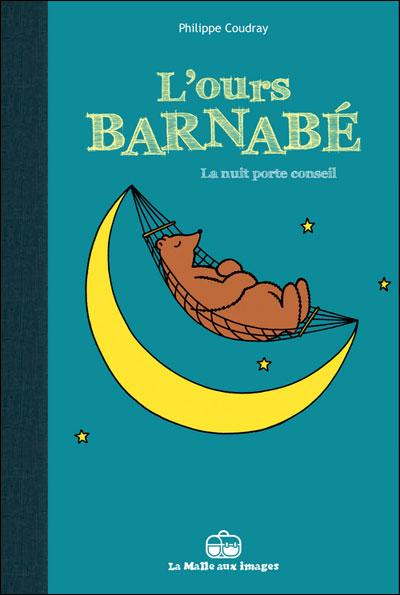L'ours barnabé la nuit porte conseil couverture