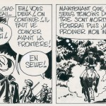 Strip A de la planche 15 de l'épisode « Le Secret de Blueberry », paru dans Super Pocket Pilote n°2 d'octobre 1968, non repris dans l'album « La Jeunesse de Bluebery » tome 1 (éditions Dargaud 1975.