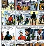 Les 10 planches du « Roi des bisons », scénarisées par Noël Carré, ont été publiées, à l'origine, dans Cœurs vaillants, du n°29 (20.07.1958) au n°38 (21.09.1958).