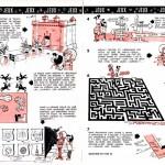 Double page avec les jeux de Record et Véronique publiée dans le numéro 2 de Record (daté de février 1962) : merci à Jean-Yves Brouard pour nous avoir scanné et communiqué toutes les pages ayant trait à « Record et Véronique ».