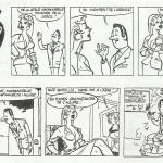 Une demi-page de « Lili mannequin », publiée en Belgique dans L'Âne roux..