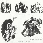 Premiers dessins dans Spirou