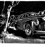 Illustration publiée dans Spirou, en 1947.