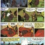 « L'Affaire Peltzer » : une planche scénarisée par un certain Laverne et publiée dans « Il était une fois les Belges », aux éditions du Lombard (en 1980).