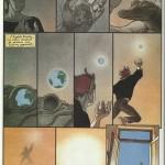 Les quatre pages de« Rêve de terre », publiées dans le n° hors-série d'(À suivre) « Silence, on rêve » de juillet 1991.