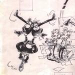 Bravo les Brothers dessin original