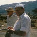 Jean-Michel Charlier au soleil des USA.
