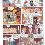 Romain Ronzeau et Thierry Gaudin - BD Kids, Espions de famille, page 9, 2012.