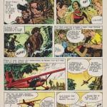 Dernière planche de « Paul Foran », la n°44 de l'épisode « Le Retour de Ling–Hur», dessinée par Jordi Bernet.