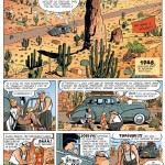 Première page de « Gringos Locos ».