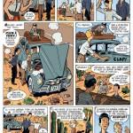 Les deux premières pages de « Gringos Locos ».