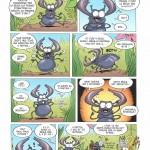 Les insectes en BD : la règle des 6 - 4 - 3 - 2