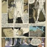 Les quatre planches de l'« Oncle Paul » sur Rodin, publiées dans le n°2301 de Spirou, daté du 20 mai1982.