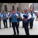 Le Bagad de Saint Brieg venu spécialement en hommage a J.C. Fournier