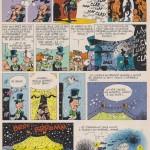 Les trois pages du « Cirque Balle » publiées dans le n°2126 de Spirou, daté du 11 janvier 1979.