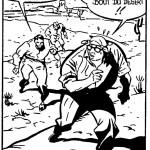 « La Vie exemplaire de Jijé » d'Yves Chaland, Serge Clerc et Denis Sire dans Métal Hurlant n°64 (6.81).