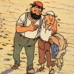 Mouchoir et bretelles ou petits citadins belgicards dans « Tintin ».