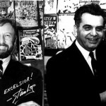 Jack Kirby en 1966 + Stan Lee en 1968.