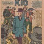 Splash Page de Kirby dans Two-Gun Kid 60.