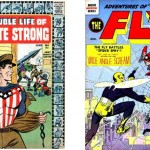 Double Life of Private Strong n°1 + Adventures of The Fly n°1.