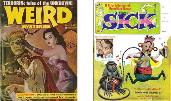Weird Mysteries + Sick.