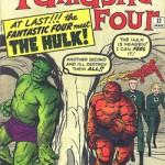 Couverture de Fantastic Four n°12.