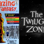 Avant Amazing Fantasy, le journal se voulait plus adulte... +  Le logo de Twilight Zone.