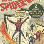 Amazing Spider-Man n°1, par le tandem Lee / Ditko, toujours sous couverture de Jack Kirby.