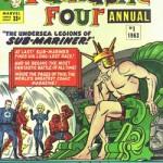 Couverture de Fantastic Four Annual 1, avec Spider-Man.