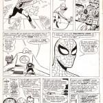 Les mêmes séquences, racontées par Ditko (dans Amazing Spider-Man n°1 de mars 1963) et plus longuement par Kirby dans Fantastic Four Annual 1 (été 1963), avec  un design de Kirby .