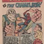 Splash Page de « Spider-Man Vs. The Chameleon ».