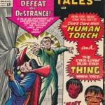 Couverture de Strange Tales n°130, avec Doctor Strange (ici, par Kirby).