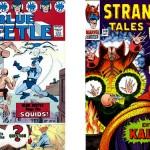 Blue Beetle + Doc Strange par Everett.