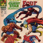 Couverture de Fantastic Four 73.