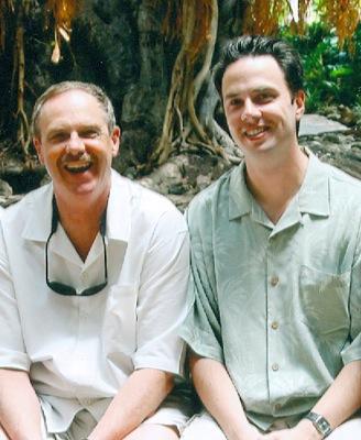 Les Jensen père et fils.