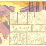 Extrait du « Triangle rouge » publié aux éditions Delcourt, en octobre 1995.