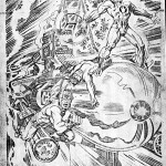 13 New Gods 6 pencils