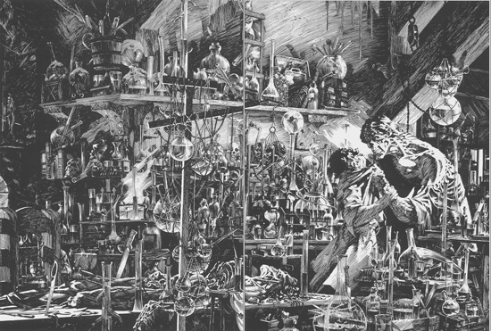 18' Frankenstein Wrightson