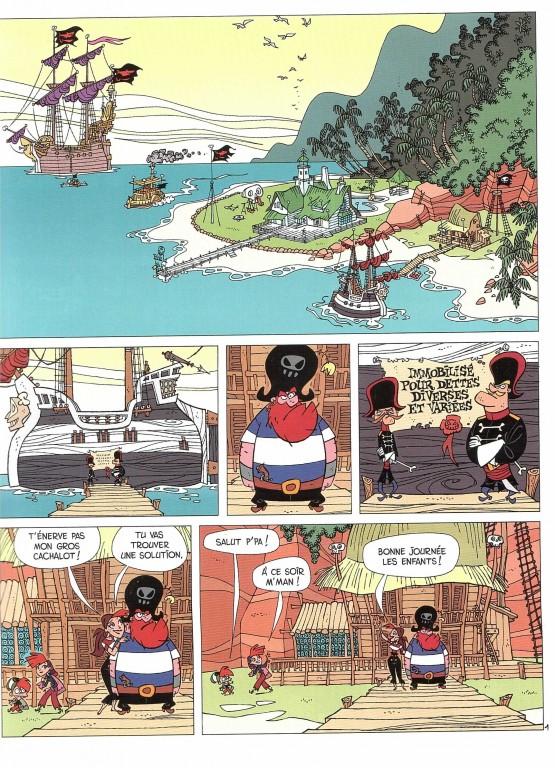 Famille pirate t1 les naufrag s par fabrice - Dessin anime de la famille pirate ...