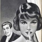 Illustration d'Arthur Piroton pour un roman paru dans le n°1911 de Bonnes Soirées, en 1957.