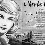 Illustration d'Arthur Piroton pour un roman paru dans le n°1913 de Bonnes Soirées, en 1958.